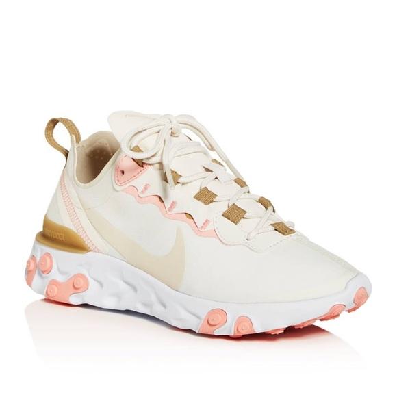 Nike React Element 55 Size 11 New BQ2728 007 NWT